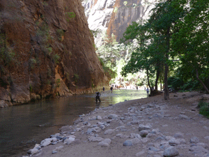 The Narrows Zion UT