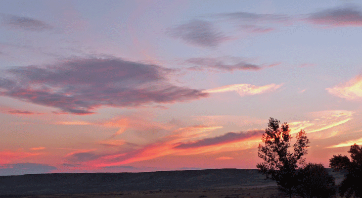 Sunset at Bruneau Dunes ID