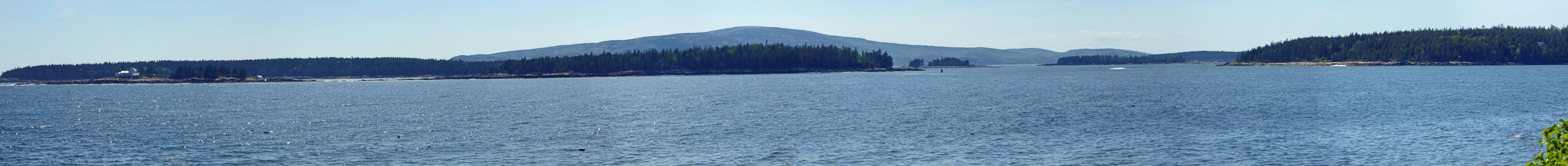 Turtle Island from Schoodic Pen.