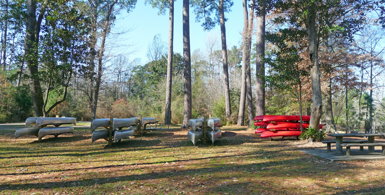 Kayaks and canoes to rent Martin Dies SP