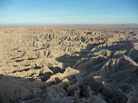 Badlands from Foss Point Anza Borrego