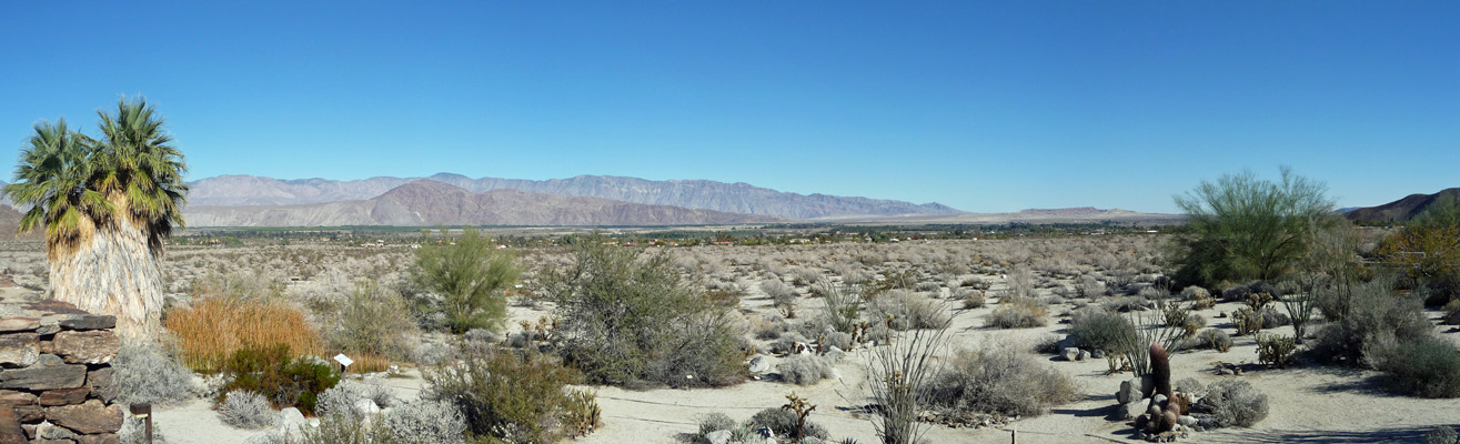 Anza Borrego Visitor Center roof view