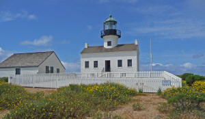 Old Lighthouse at Pt. Loma, CA