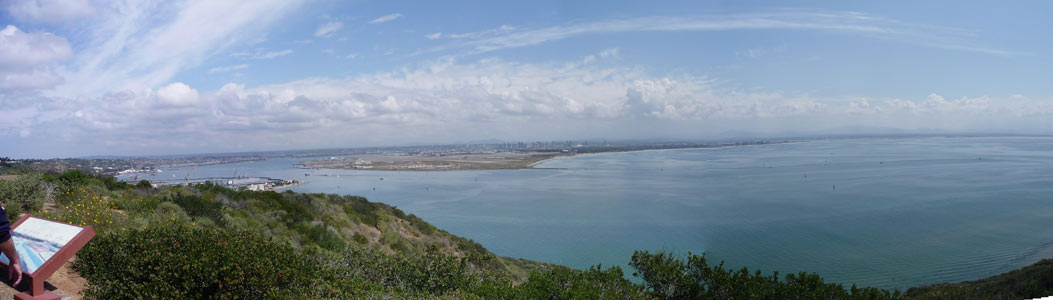 View from Point Loma CA