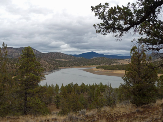 View from Owl Creek Campground Prineville Reservoir OR
