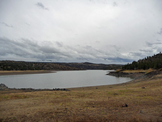 Prineville Reservoir from Owl Creek Campground OR