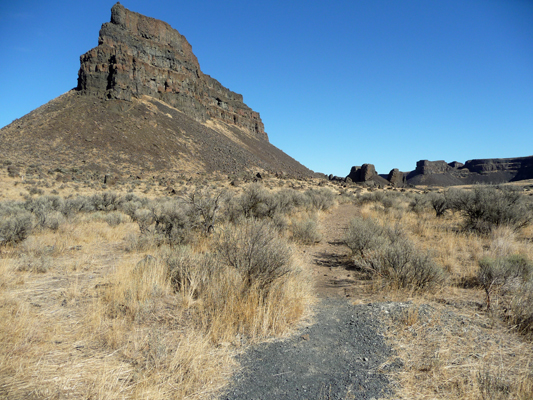 Umatilla Rock Trail Sun Lakes SP