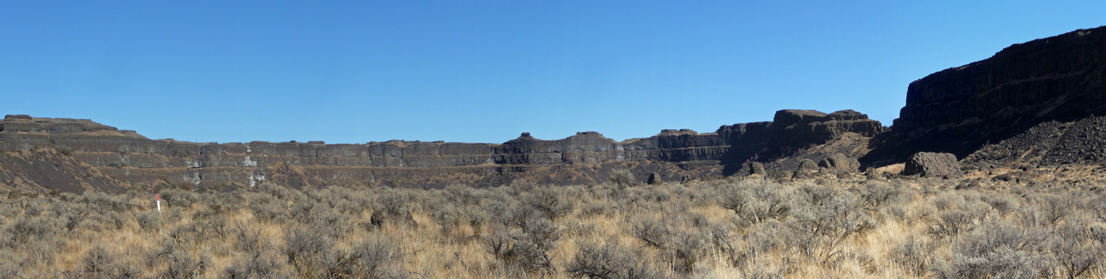 Dry Falls from Umatilla Rock Trail
