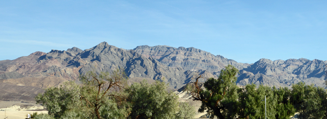 Funeral Mountains Death Valley