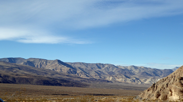 Death Valley from Emigrant Pass Rd