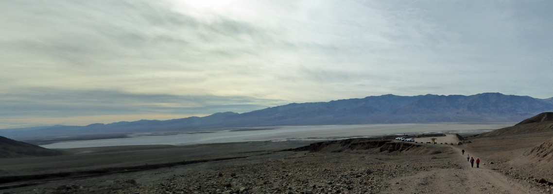 Death Valley from Natural Bridge trail