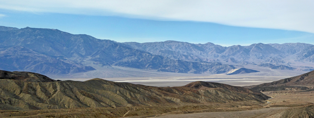 Death Valley from Artists Palette trail