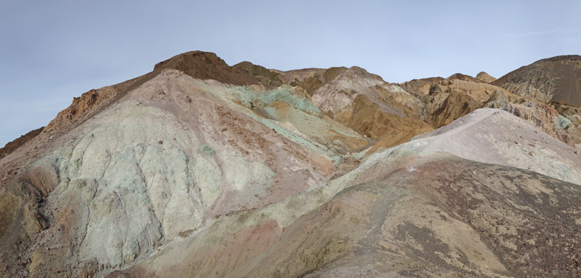 In Artists Palette Death Valley