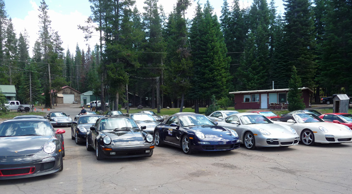 Porche Rall Diamond Lake Resort OR