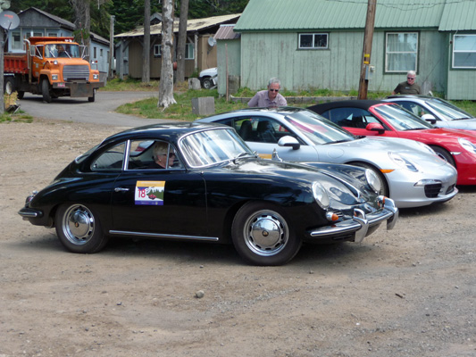 Porche Rally Diamond Lake Resort OR