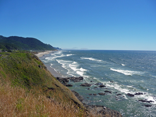 Oregon Coast south of Cape Perpetua