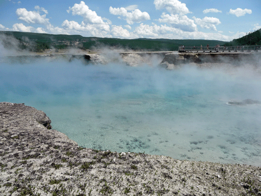 Excelsior Geyser Crater Yellowstone