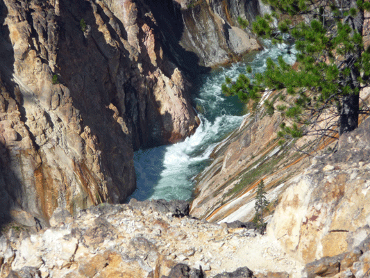 Rapids from Inspiration Point
