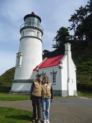 Walter Cooke Sara Schurr Heceta Head Lighthouse
