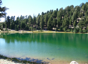 Emerald Lake Lassen Volcanic National Park