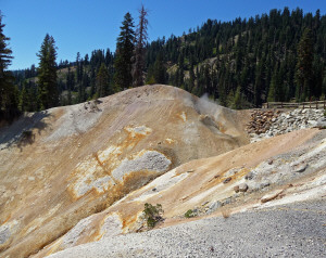 Sulfur Works lassen Volcanic National Park