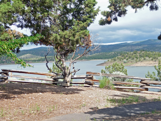 Prineville SP campground view