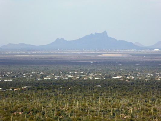 Picacho Peak from Valley View
