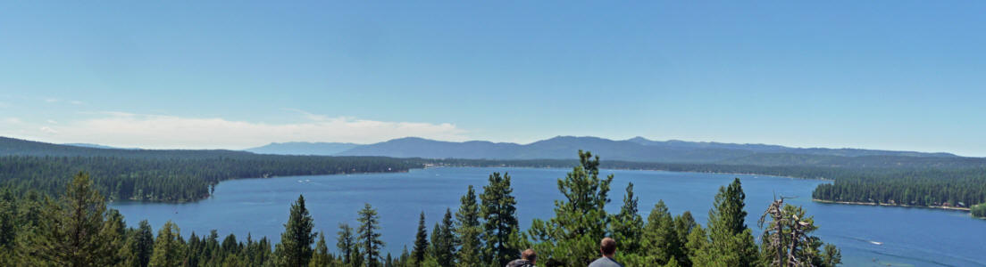 Payette Lake from Osprey Point Ponderosa SP ID