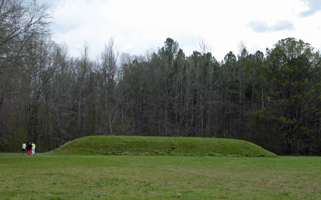 Bear Creek Mound Natchez Trace MS