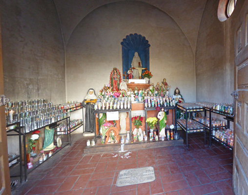 Madre Chapel Mission San Xavier del Bac