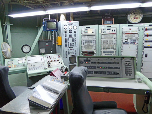 Titan Missile Museum Commanders chair